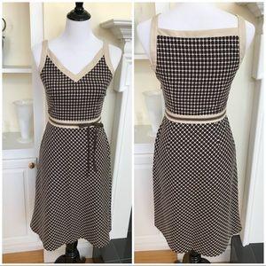LOFT Aline Sleeveless Dress  Side Zip Size 0